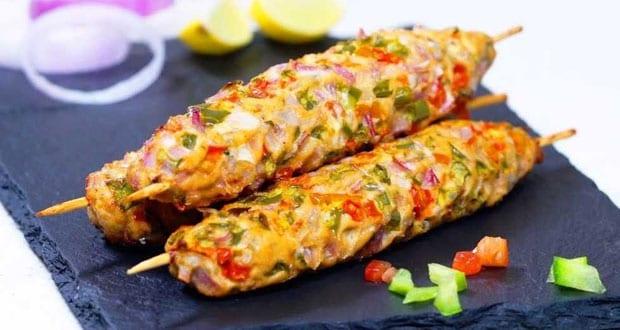 चिकन गिलाफी कबाब