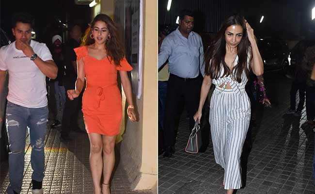 Student Of The Year 2: Sara Ali Khan, Malaika Arora And Others At Screening With Ananya Panday, Tara Sutaria And Tiger Shroff