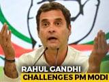 "Video : ""Unprecedented Event"": Rahul Gandhi Mocks PM Modi's Briefing"