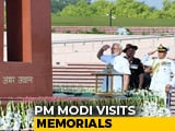 Video : PM Modi Pays Tribute At National War Memorial Before Oath Ceremony