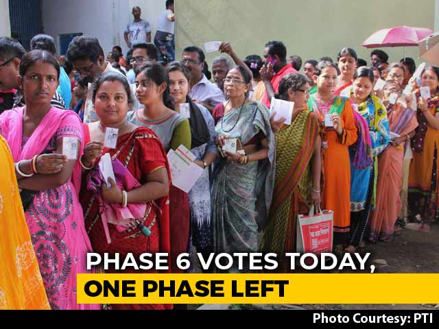 Video : Delhi, 6 States Vote Today In Phase 6 Of Lok Sabha Polls