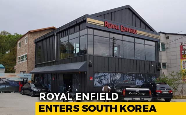 Video : Royal Enfield Enters South Korea