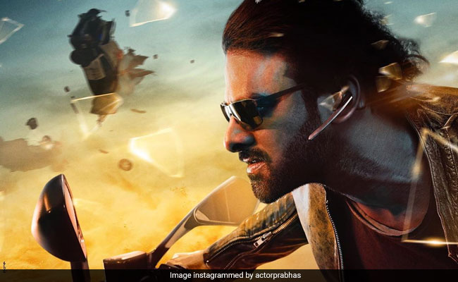 Saaho: Prabhas Looks Fierce In The Second Poster Of The Film