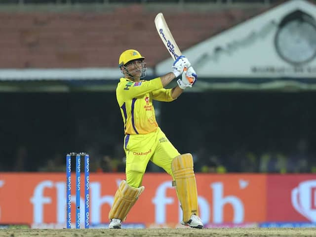 IPL 2019: MS Dhoni Blames Poor Shot Selection For CSKs Loss Against Mumbai Indians In Qualifier 1