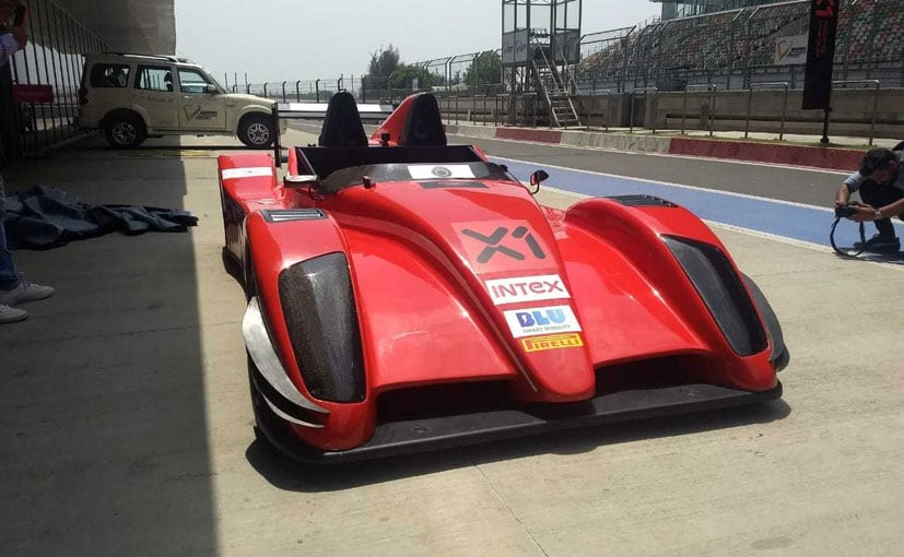 The two-seater made-in-India prototype of the race car was unveiled