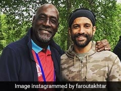 Farhan Akhtar's 'Full Fanboy Moment' With Cricket Legend Vivian Richards At Lord's