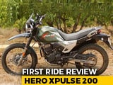 Video : Hero XPulse 200 First Ride Review