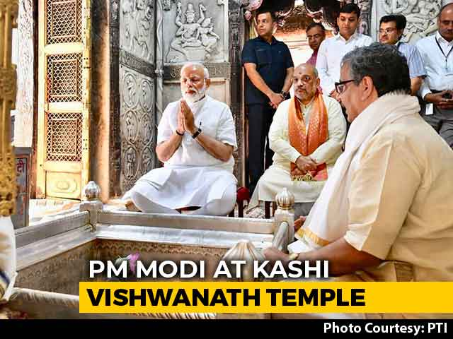 Prayers, Thanksgiving As PM Modi Visits Varanasi After Massive Win