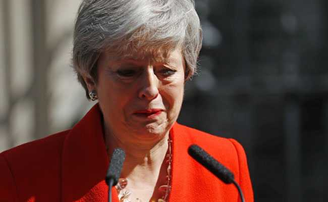 Holding Back Tears, Theresa May Announces Resignation Over Brexit