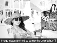 Samantha Ruth Prabhu Added More Photos To Her Spain Vacation Album