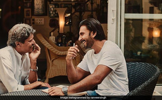 'Becoming A Hurricane': Ranveer Singh, Kapil Dev Are Cooking Up A Storm For '83