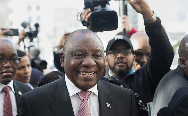 Cyril Ramaphosa Sworn-In As President Of South Africa Vowing 'New Era'