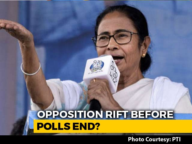 Video : Opposition Rift Before Polls End, Mamata Banerjee, Mayawati May Skip Meet