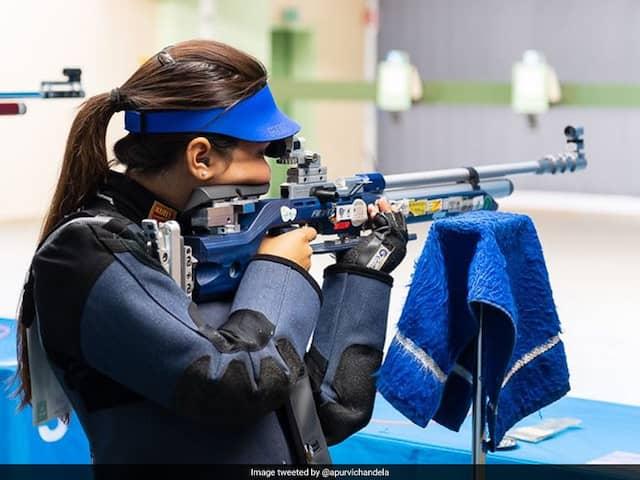 Apurvi Chandela Wins Years Second Womens 10m Air Rifle World Cup Gold