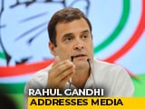 "Video : ""Anywhere But At Anil Ambani's House"": Rahul Gandhi Jabs PM On Debate"