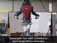 In Video, Humanoid Robot Crosses Narrow Balance Beam Like A Cakewalk