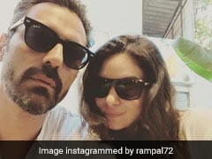 Parents-To-Be Arjun Rampal And Gabriella Demetriades' Selfie Will Give You 'Summer Vibes'