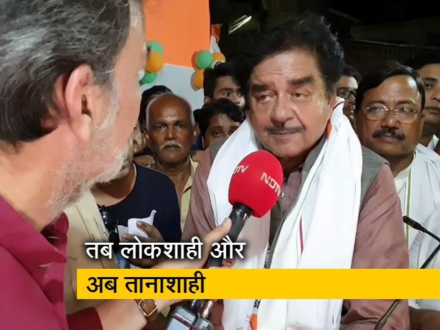 Video : NDTV से बोले शत्रुघ्न सिन्हा, मोदी राज में है तानाशाही