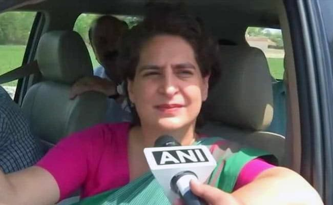 Priyanka Gandhi To Visit UP To Meet Families Of Sonbhadra Shootout