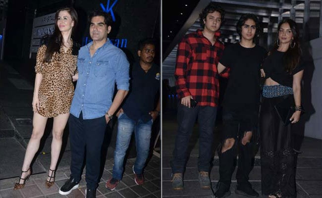 Giorgia Andriani Celebrates Birthday With Arbaaz, His Son Arhaan And Khandaan. See Pics