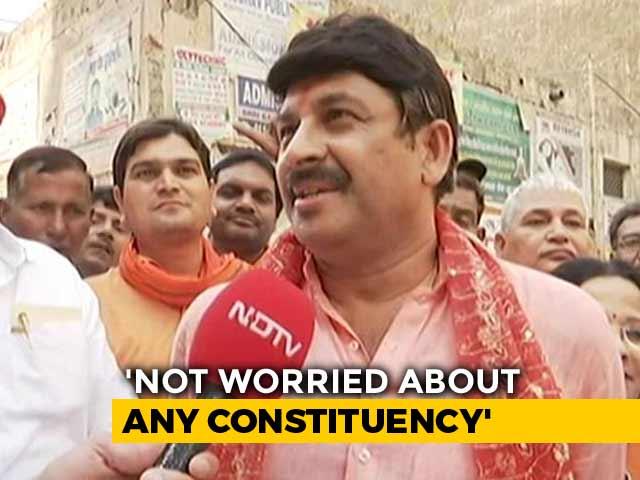 Video : No Doubt Sheila Dikshit Is Better Than Arvind Kejriwal, Says Manoj Tiwari
