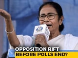 Video : Opposition Rift Before Polls End, Mamata Banerjee, Mayawati May Skip Meet