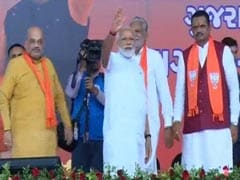 PM Modi Visits Party Office From Where He Operated Initially