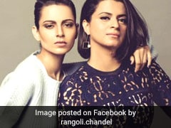 Kangana Ranaut's Sister Accuses Hrithik Roshan Of Making Actress A 'Punching Bag' In Angry Tweets