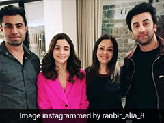 Trending: Alia Bhatt And Ranbir Kapoor Spotted On Reported Vacation In Switzerland