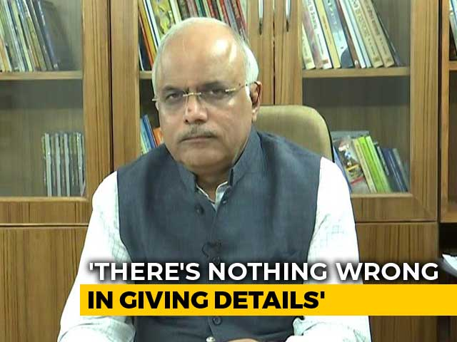 Video : BJP Leader Plays Down PM Modi's Comments On Balakot Op Amid Criticism