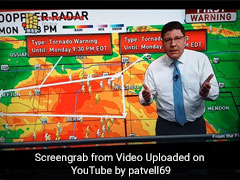 Weatherman Snaps At Viewers During Tornado Warning. Here's Why