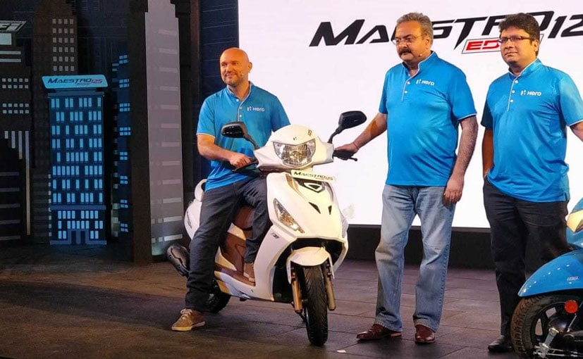Bookings for the Maestro Edge 125 start from May 16, 2019