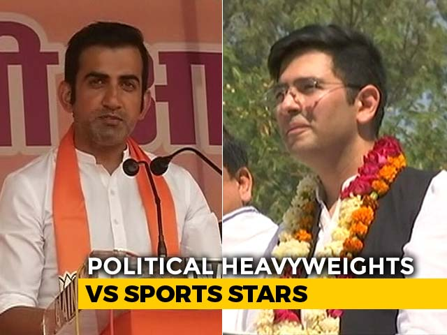 Video : Delhi's Three-Cornered Fight Has Sportspersons, Political Heavyweights