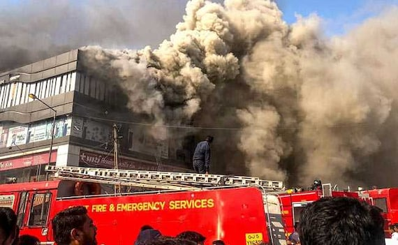 19 Dead In Surat Coaching Centre Fire, Students Jumped Off Building
