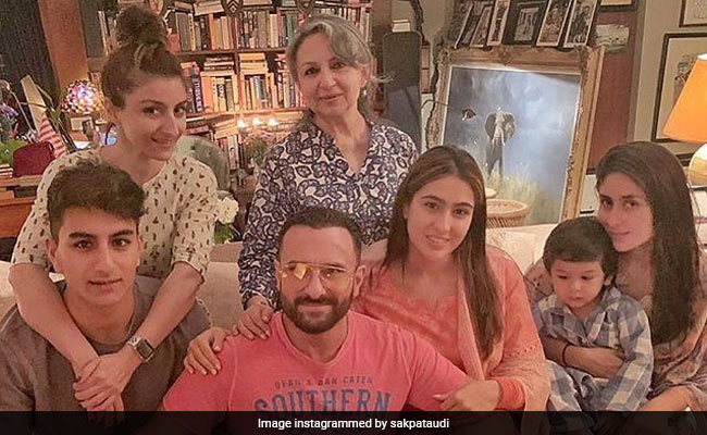 Sharmila Tagore To Taimur Ali Khan, Almost Full House In This Pataudi Family Pic