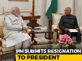 Video : Ahead Of His 2nd Term As PM, Narendra Modi Meets President, Ends 1st Term