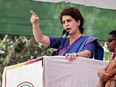"""Cowards"": Priyanka Gandhi To Vandals Of Mahatama Gandhi Statue In UP"