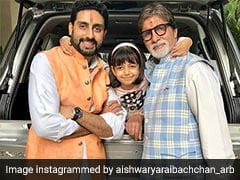 In Amitabh Bachchan's 4 Generations-In-1 Pic, Baby Aaradhya Takes The Cake
