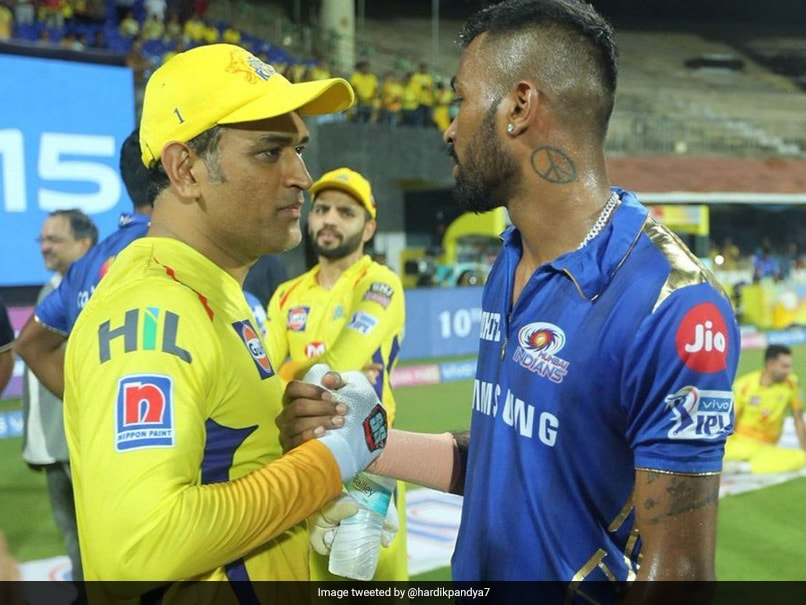 MS Dhoni And Hardik Pandya's Bromance At All-Time High. See Pic