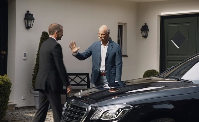 The video recreates Dieter Zetsche's last day and suggest what he should drive now that he's retired