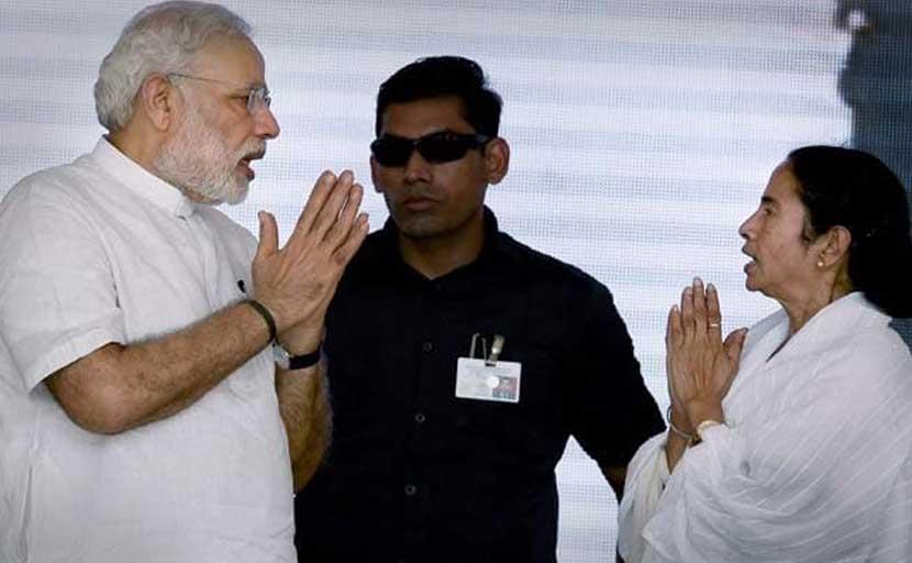 पीएम नरेंद्र मोदी के शपथ समारोह की तैयारियां पूरी, ममता भिड़ पड़ीं बीजेपी से