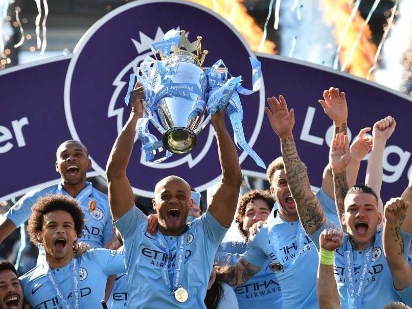 Manchester City Batter Brighton To Retain Premier League Title