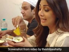 Watch: Shilpa Shetty Kundra Slips Into 'Food Coma' While Eating Malpua At Mohammed Ali Road