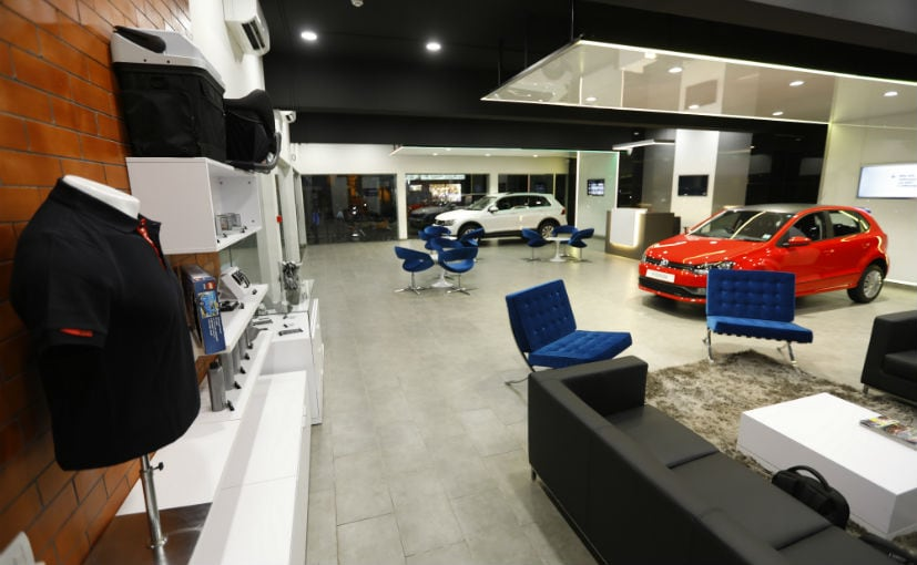 Volkswagen's first City store is located at Richmond Road in Bengaluru