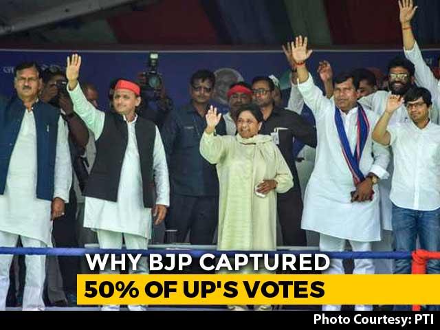 Video : How The Alliance Of Mayawati, Akhilesh Yadav Lost Uttar Pradesh