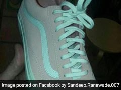 Grey And Green Or Pink And White? Optical Illusion Shoe Divides Internet
