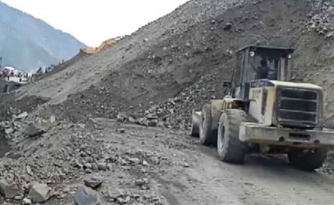 Jammu Srinagar National Highway Closed Due to Landslide