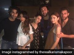 Ranbir Kapoor-Alia Bhatt Party With Karisma, Kareena Kapoor And Saif Ali Khan Host Neha-Angad And Soha-Kunal