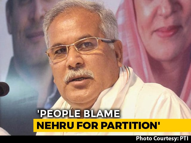 Video : Savarkar Pitched 2-Nation Theory Before Jinnah: Congress's Bhupesh Baghel