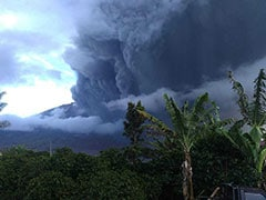 Indonesian Volcano Erupts, Sending Smoke, Ash More Than 6,000 Feet In Air